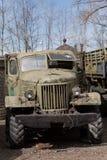 Vieux camion soviétique Photos stock