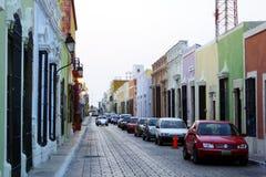 Vieux Campeche Image stock