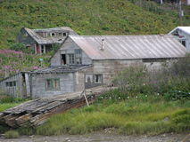 Vieux canerries de pêche photographie stock libre de droits