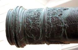 Vieux canon à Moscou Kremlin Site d'héritage de l'UNESCO Images libres de droits