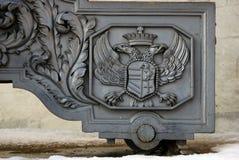 Vieux canon à Moscou Kremlin Site d'héritage de l'UNESCO Image libre de droits