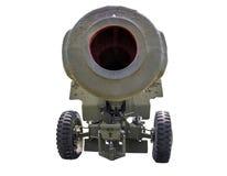 Vieux canon d'artillerie Image libre de droits