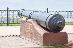 Vieux canon dans les fortifications Photos libres de droits