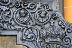 Vieux canons à Moscou Kremlin Site d'héritage de l'UNESCO Image stock
