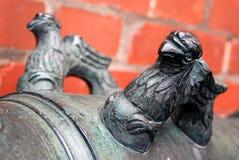 Vieux canons à Moscou Kremlin Site d'héritage de l'UNESCO Photo libre de droits