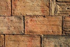 Vieux carrelages artisanaux faits d'argile Image stock