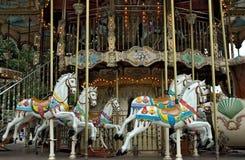 Vieux carrousel images stock
