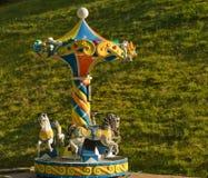 Vieux carrousel Image stock