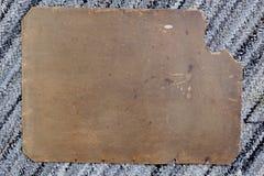 Vieux carton Photographie stock
