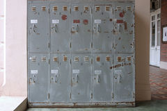 Vieux casiers photos stock