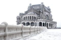 Vieux casino figé Image libre de droits