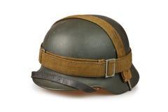 Vieux casques allemands Images stock