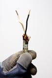 Vieux câblage Photographie stock libre de droits