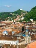 Vieux centre de Brasov, Roumanie images libres de droits