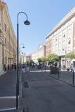 Vieux centre de Civitavecchia, Italie Image libre de droits