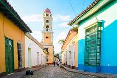 Vieux centre, Trinidad Cuba photo stock