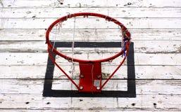 Vieux cercle de basket-ball Photographie stock libre de droits
