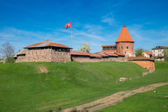 Vieux château à Kaunas, Lithuanie Images stock