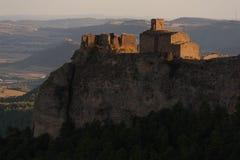 Vieux château dans les ruines Photos libres de droits