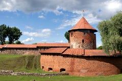 Vieux château de Kaunas Images libres de droits
