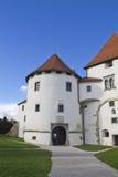 Vieux château de ville Photographie stock