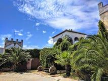 Vieux château de ville de Sarti Image stock