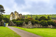 Vieux château de Wardour, Wardour, WILTSHIRE, Angleterre Images stock