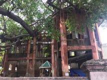 Vieux château en bois Photographie stock libre de droits