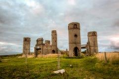 Vieux château en pierre Photographie stock libre de droits