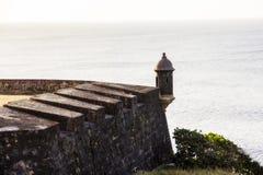 Vieux château en San Juan Puerto Rico photos stock