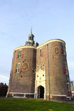 Vieux château historique aux Pays-Bas Images libres de droits