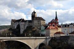 Vieux château Loket Image libre de droits