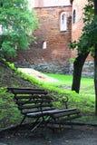 Vieux château Nidzica de la Pologne Images stock