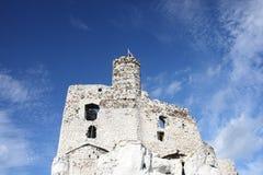 Vieux château polonais photographie stock