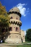 Vieux château près de Lednice Images libres de droits
