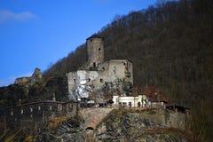 Vieux château Strekov Images stock