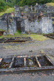 Vieux chantiers d'avance, Snowdonia Photos stock
