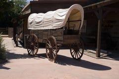 Vieux chariot Photos stock
