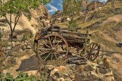 Vieux chariot Photo stock