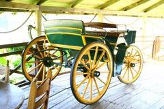 Vieux chariot Photo libre de droits