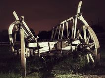 Vieux chariot Image libre de droits
