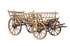 Vieux chariot décoratif image libre de droits