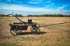 Vieux chariot d'incendie Photos libres de droits