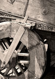 Vieux chariot de chariot Photographie stock