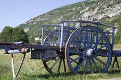 Vieux chariot de cheval Image stock