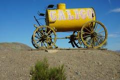 Vieux chariot de cheval de calicot images libres de droits