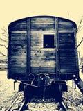 Vieux chariot de goulag photo libre de droits