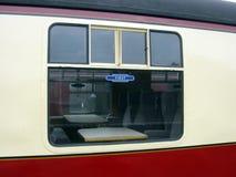 Vieux chariot de première classe Image stock