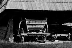 Vieux chariot rural photographie stock libre de droits