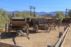 Vieux chariots Images libres de droits